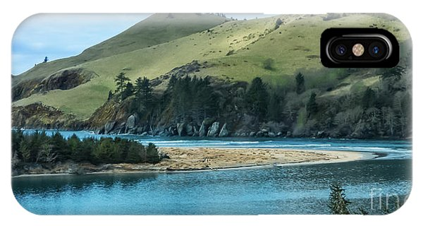Cascade Head Panorama IPhone Case