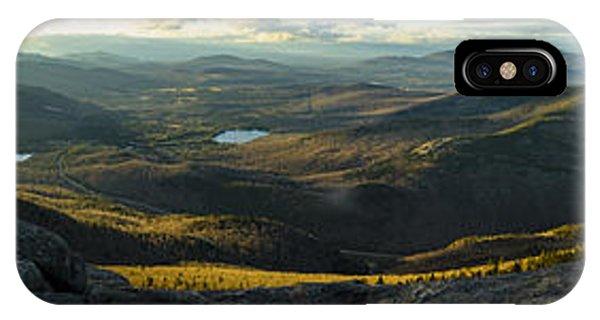 Cascade Mountain Sunset IPhone Case