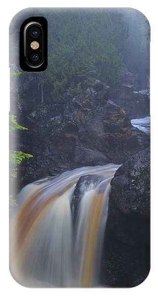 Cascade River Cascade IPhone Case