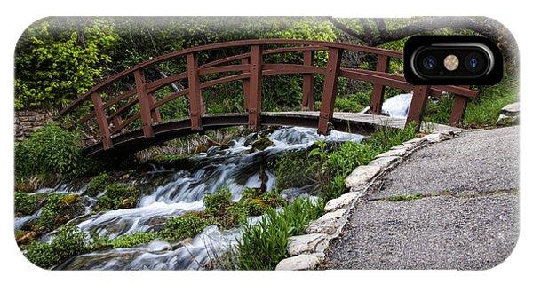 Cascade Springs Bridge IPhone Case