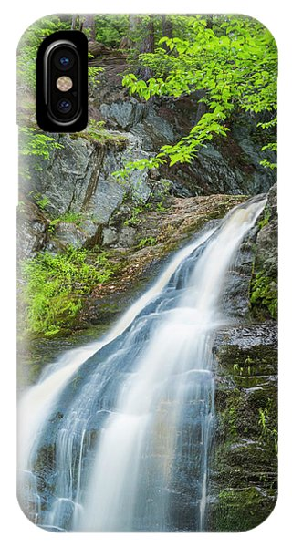 Cascade Waterfalls In South Maine IPhone Case