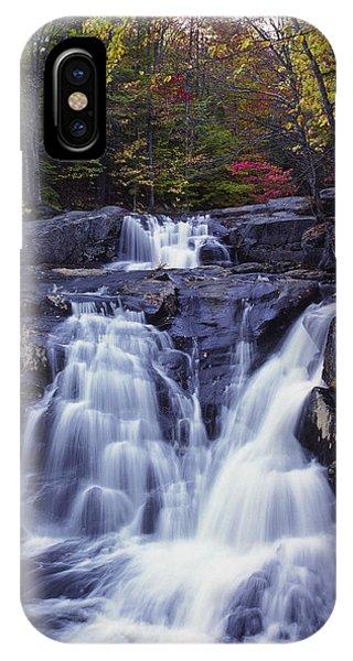 Cascades In Autumn IPhone Case