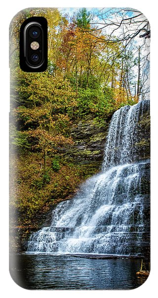 Cascades Lower Falls IPhone Case