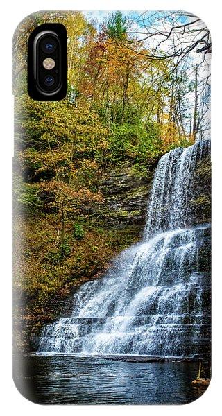 Cascades Lower Falls IPhone Case
