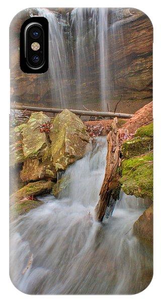 Crossville iPhone X Case - Cascading Waterfall by Douglas Barnett