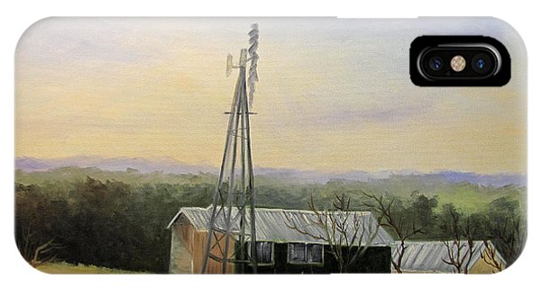 Case Ranch Buildings IPhone Case