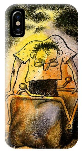 Debts iPhone Case - Cash by Leon Zernitsky