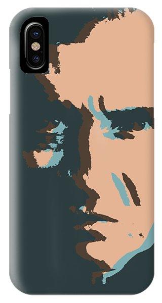 Johnny Cash iPhone Case - Cash Pop Art Poster by Dan Sproul