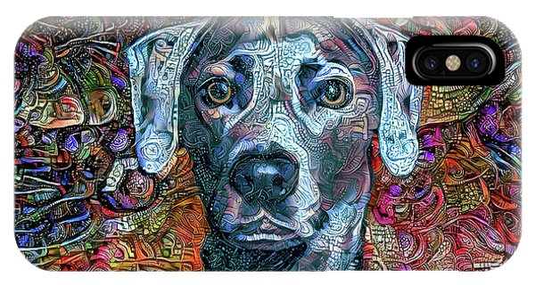 Cash The Blue Lacy Dog IPhone Case