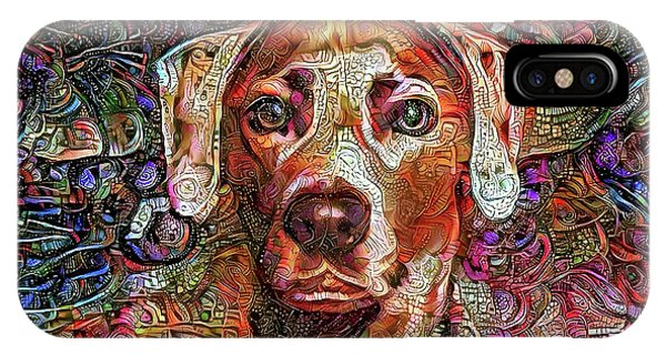 Cash The Lacy Dog IPhone Case