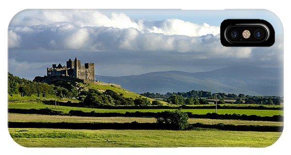 Cashel Castle On The Rock Of Cashel IPhone Case