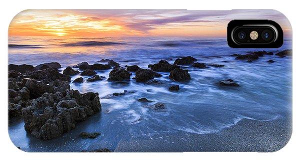 Casperson Beach Sunset 2 IPhone Case