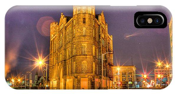 Cass Castle Detroit Mi IPhone Case