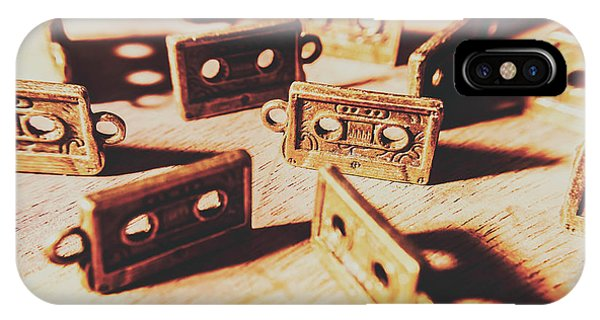 Object iPhone Case - Cassette Club Dance by Jorgo Photography - Wall Art Gallery