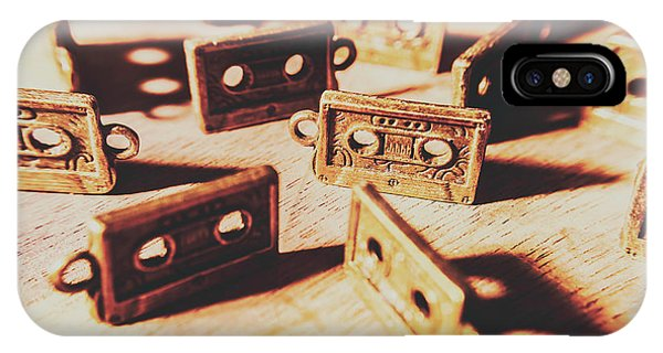 Technology iPhone Case - Cassette Club Dance by Jorgo Photography - Wall Art Gallery