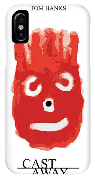Castaway Tom Hanks Wilson IPhone Case
