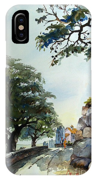 Castel At Borgo Rapale IPhone Case