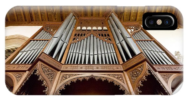 Castle Ashby Pipe Organ IPhone Case