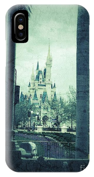 Castle Between The Palms IPhone Case