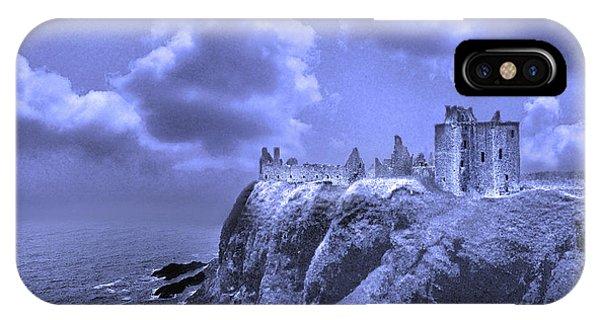 Castle Blue IPhone Case