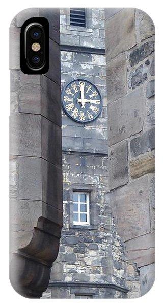 Castle Clock Through Walls IPhone Case