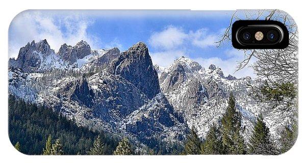 Castle Crags IPhone Case