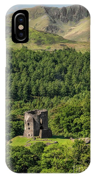 Castle Dolbadarn  IPhone Case