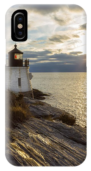 Castle Hill Light 2 IPhone Case