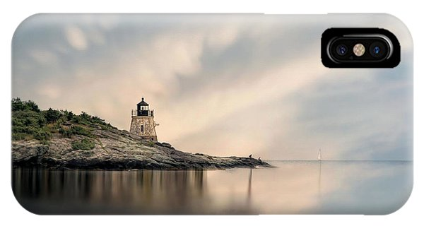 Castle Hill Light IPhone Case