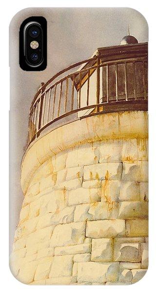 Castle Hill Light IPhone Case