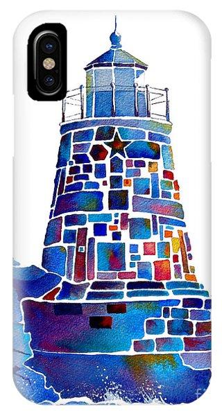 Castle Hill Newport Lighthouse IPhone Case