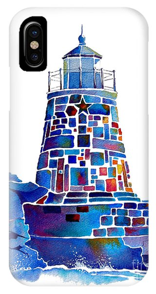 Castle Hill Newport Lighthouse IPhone Case