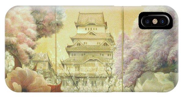 Castle Himeji - Sakura IPhone Case