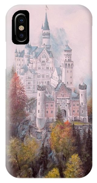 Castle In The Clouds IPhone Case