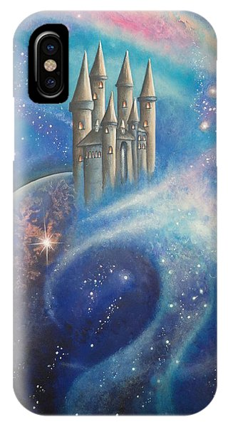 Castle In The Stars IPhone Case