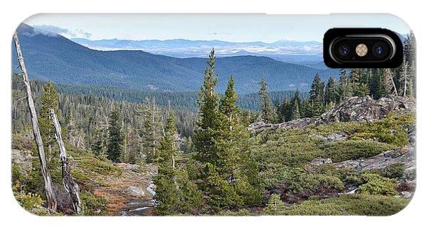 Castle Lake Trail IPhone Case
