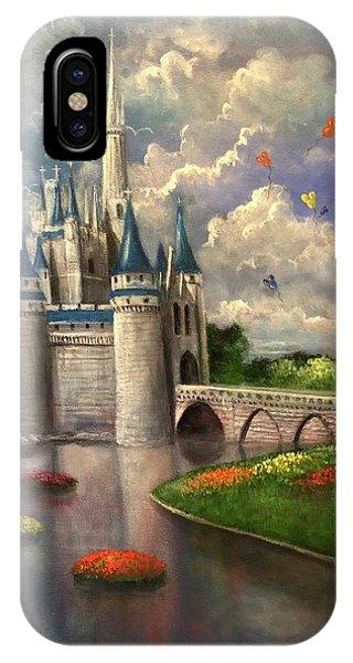 Castle Of Dreams IPhone Case