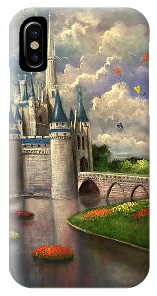 Castle Of Dreams IPhone Case