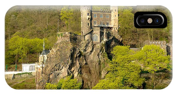Castle On A Rock IPhone Case
