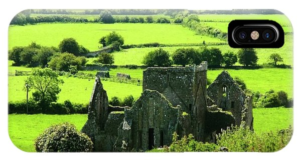 Castle Ruins Countryside IPhone Case