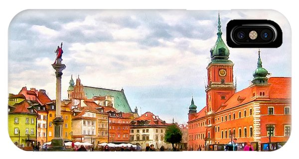 Castle Square, Warsaw IPhone Case