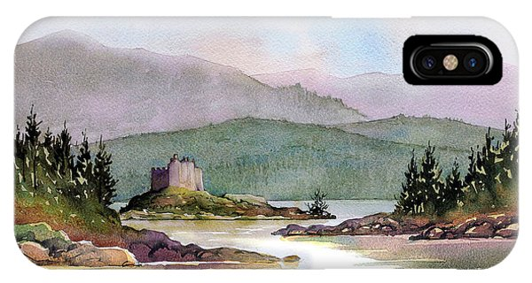 iPhone Case - Castle Tioram  by Anthony Forster