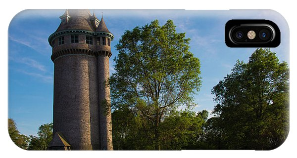 Castle Turret On The Green IPhone Case