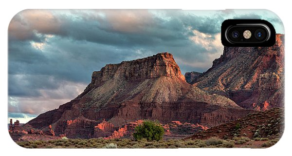 IPhone Case featuring the photograph Castle Valley Finale by Denise Bush