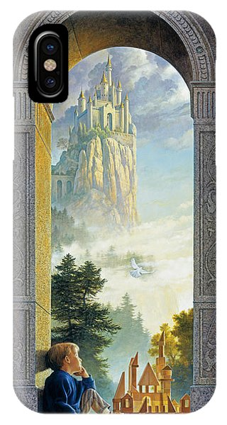 Castle iPhone X / XS Case - Castles In The Sky by Greg Olsen