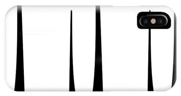 IPhone Case featuring the digital art Cat 3 Trio by Donna Mibus