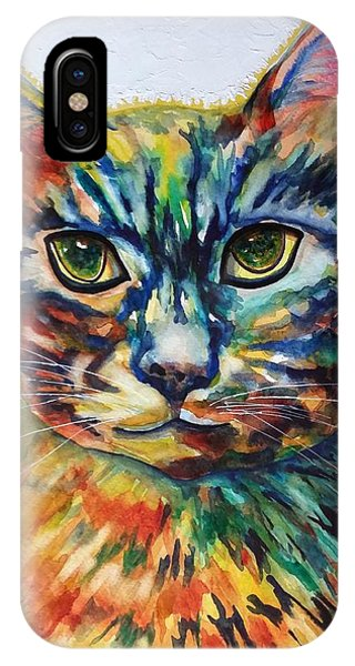 Cat A Tude IPhone Case