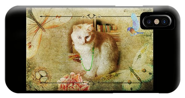 Kitty Cat Composite Art II IPhone Case