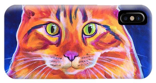 Cat - Cosmo IPhone Case