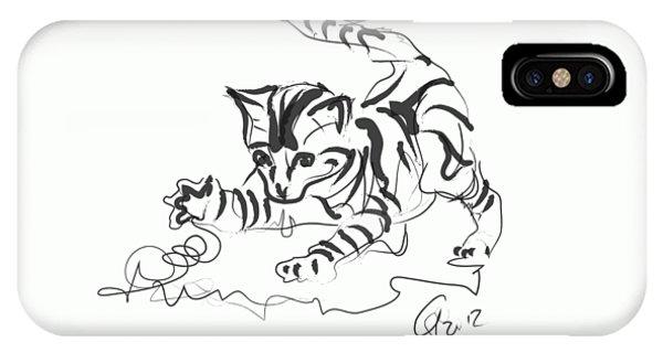 Cat- Cute Kitty  IPhone Case